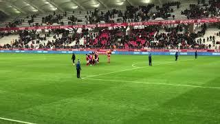Stade de Reims-Lens (3-1) Envahissement de terrain+ Communion avec les joueurs !
