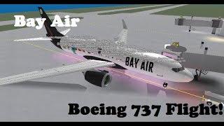 ROBLOX | Bay Air Boeing 737 Flight!