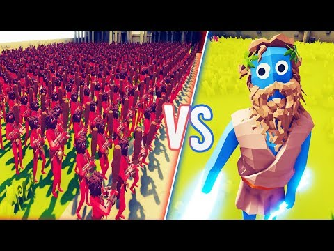 TABS - How Many Mortals Does It Take To Kill A God? - Totally Accurate Battle Simulator Gameplay