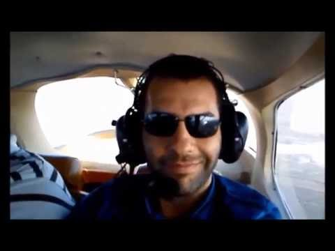 Amazing & funny Flight with friends over Casablanca on Cessna 172, Landing at Tit Melil GMMT - 2012.