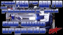 Ford F150, Pac Amp Pro, and Phoenix Gold car audio upgrade