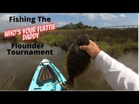 Fishing The Who's Your Flattie Daddy Flounder Tournament In Galveston Texas.