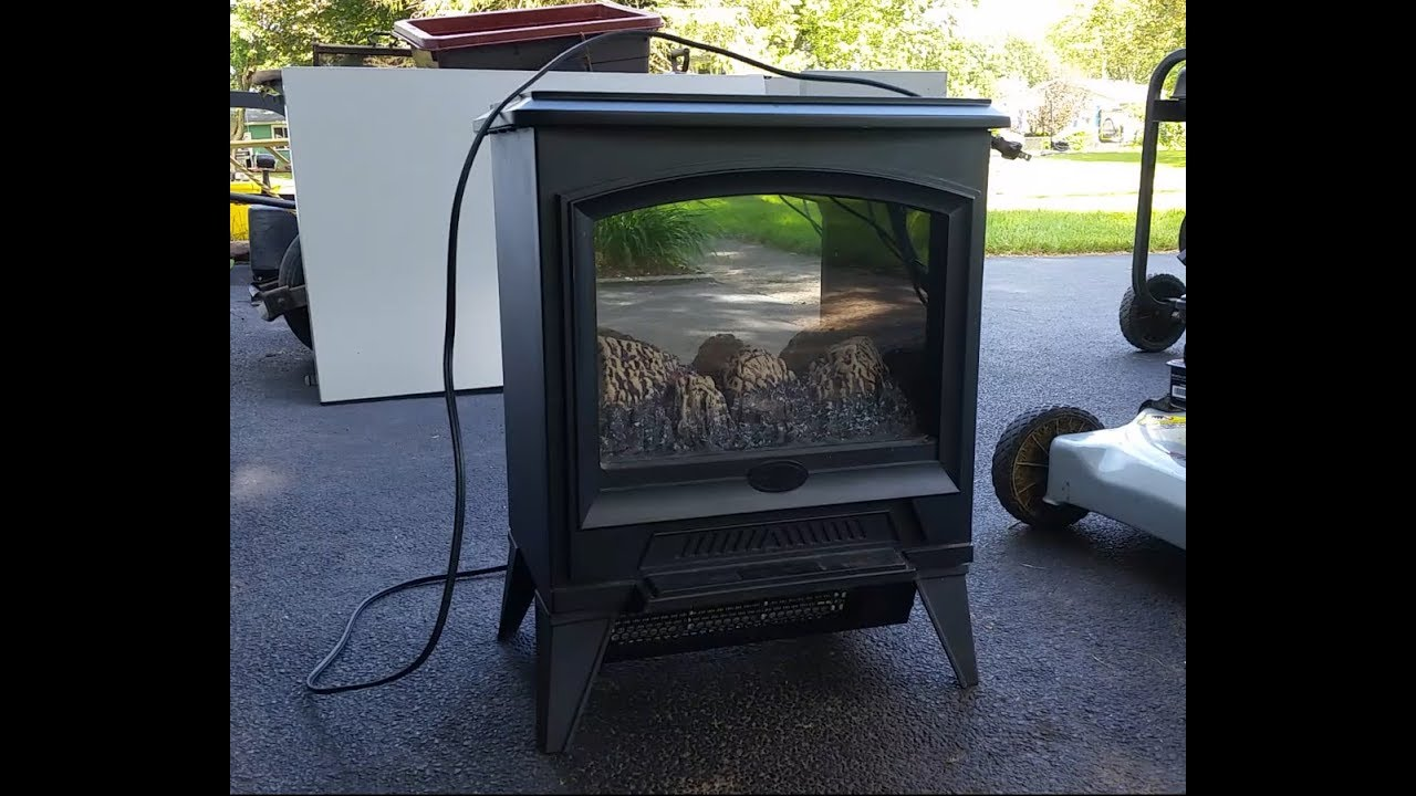 electralog dimplex electric fireplace heater with flame effect part rh youtube com electralog electric fireplace manual