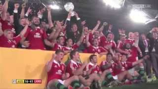 British & Irish Lions 2013 Highlights
