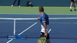 Marton Fucsovics vs. Nikoloz Basilashvili | US Open 2019 R1 Highlights