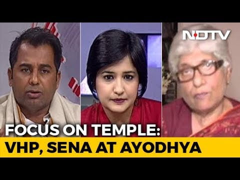 The Big Push For Ram Temple At Ayodhya