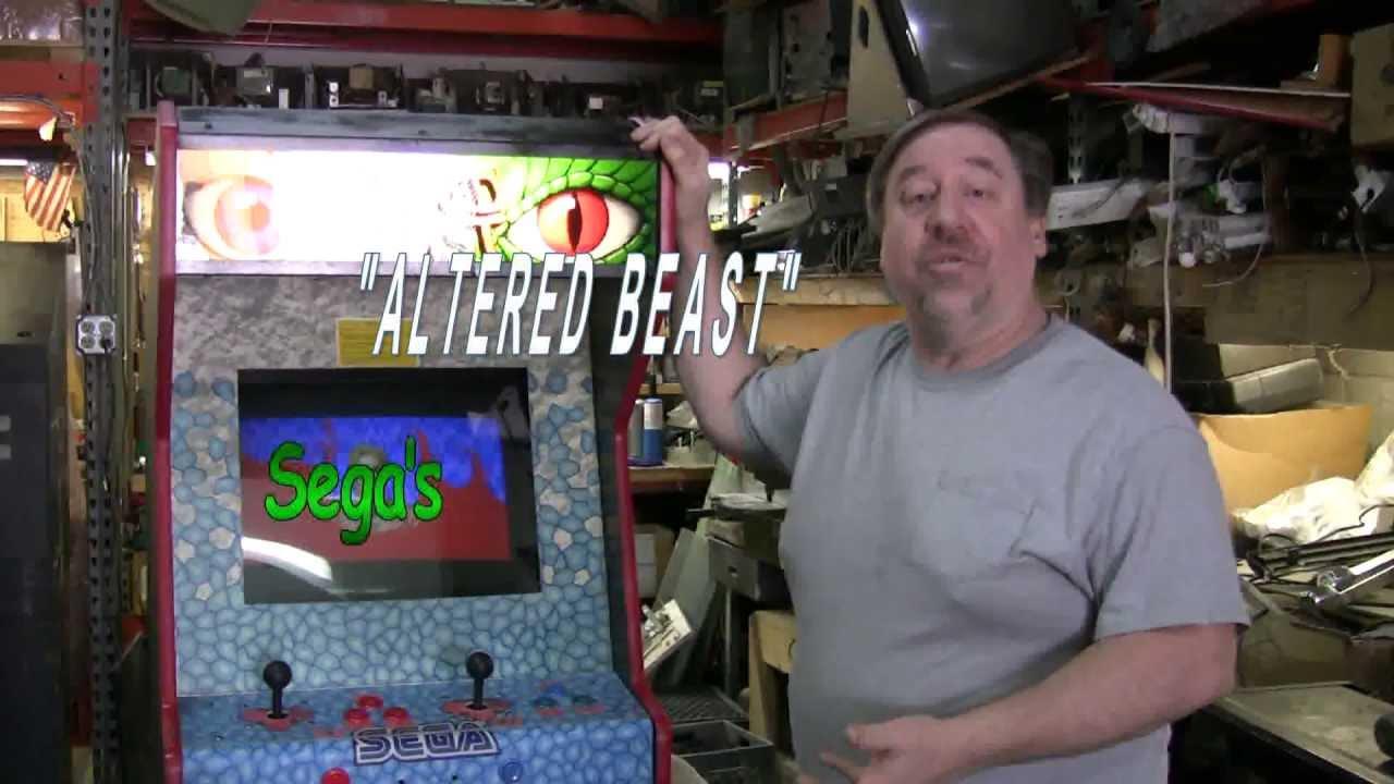 198 Sega ALTERED BEAST Arcade Video Game - An Emerging Classic ...