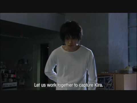 L meets Light Yagami