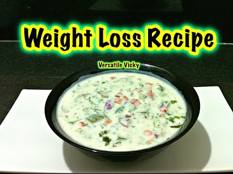 How to Lose Weight Fast with Yogurt / Indian Meal Plan / Lose 5KG in a Month / Vegetable Raita