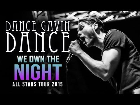 "Dance Gavin Dance - ""We Own The Night"" LIVE! All Stars Tour 2015"