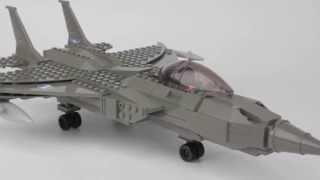 Кінцевою солдата хD ВМС F-18 винищувач і експериментальної іграшка будівельний набір