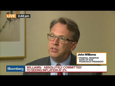 Fed's Williams on U.S. Economy, Inflation, China