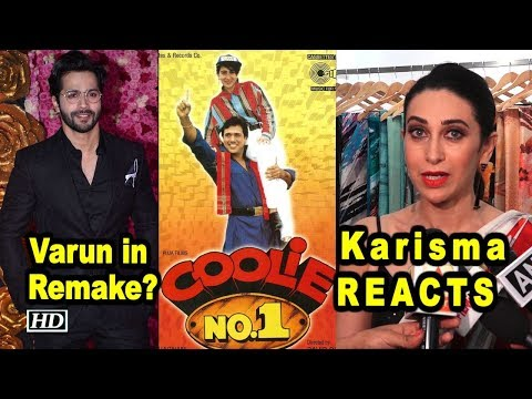 Will Varun star in 'COOLIE NO. 1' Remake? Karisma Kapoor REACTS Mp3