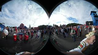 Фан-зона Москва. 360 VR. Матч Россия-Хорватия. 1