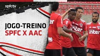 JOGO-TREINO: SÃO PAULO 6x1 CALDENSE   SPFCTV