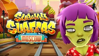 SUBWAY SURFERS GAMEPLAY PC HD 2019 - MOSCOW - ZOE HEXED BOARD