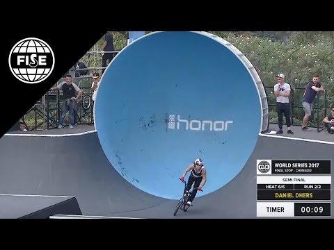 FISE CHENGDU 2017 UCI BMX Freestyle Park World Cup Men Semi Final [REPLAY]
