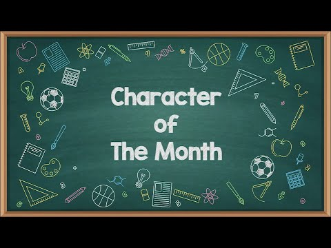 Character of The Month | September 2020 | Kerendahan Hati