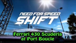 Need for Speed: SHIFT Xbox 360 - Ferrari 430 Scuderia  on Port Boucle
