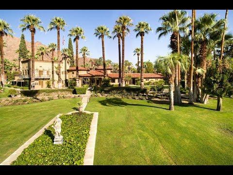Cary Grant's Former Villa Paradiso Estate in Palm Springs, California