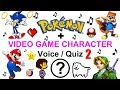 Video Game Character Voice Quiz 2