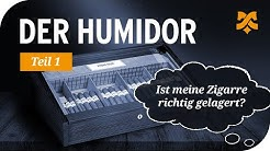 """Der Humidor – """"Ist meine Zigarre richtig gelagert?"""" (Befeuchtungssysteme im Humidor)"""