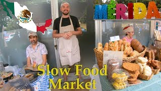 Slow Food Farmers Market in Merida Mexico