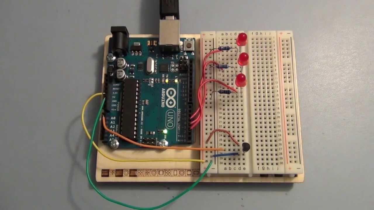 Arduino uno tutorial analog inputs and measuring