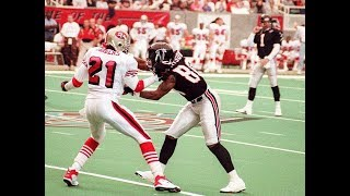 Andre Rison vs Deion Sanders (1994) | WR vs CB Matchup - CRAZY BEEF