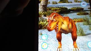Talking Rex the dinosaur review on Samsung Galaxy tablet 4