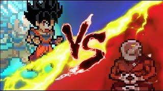 Goku vs Jiren Round 1: Sprite Animation