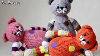 Амигуруми: схема Кот Серединка. Игрушки вязаные крючком - Free crochet patterns.