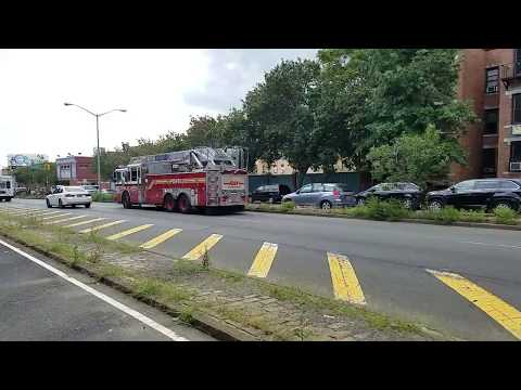"FDNY Ladder 29 ""South Bronx"" Passing By In The South Bronx, New York"