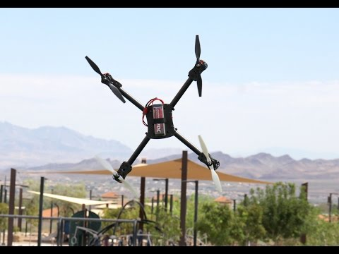 Alan Szabo Jr. Leap 3D Quad Test Flight 2 with some crashes
