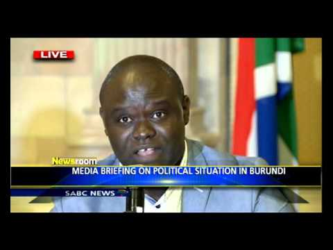 Media Briefing on political situation in Burundi
