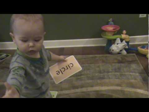 Baby reading game 16 months