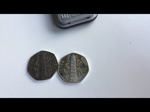 How to SPOT a fake Kew gardens 50p - TIPS on real and fake Kew GARDENS 50p