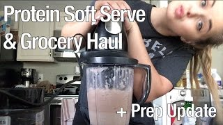 Protein Soft Serve & Grocery Haul | Bikini Prep Diaries Ep. 4