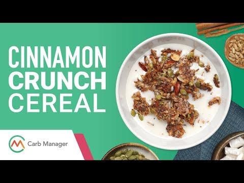 Low Carb Paleo Cinnamon Crunch Cereal Recipe