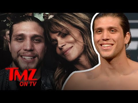 UFC's Brian Ortega Training Halle Berry, 'We're Gonna Drill Her Hard' | TMZ TV