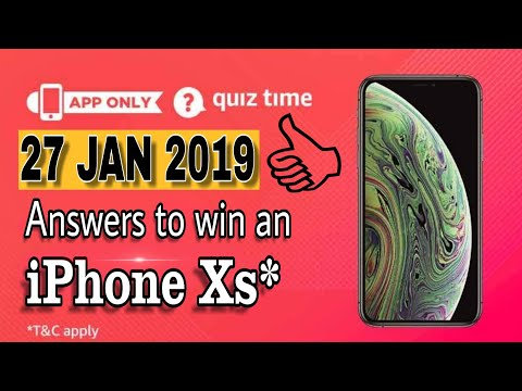 Download Amazon Spin And Win Iphone Xs 17 Jan 2019 MP3, MKV, MP4