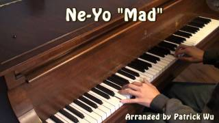 Ne-Yo Mad Piano Cover HD 1080