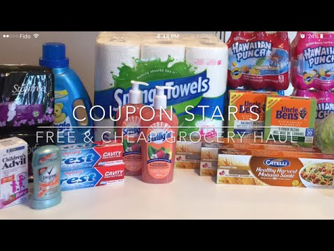 FREE & CHEAP GROCERY HAUL – AUG 5TH 2016 – COUPONING IN CANADA **REVISED TO FIX AUDIO**