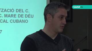 Sessió informativa, Pla de Barris Calafell Poble