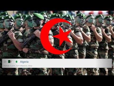 L'armée algérienne figure désormais parmi les plus puissantes armée du monde HD !