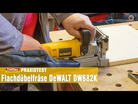 Dewalt DW682K Flachdübelfräse im Test