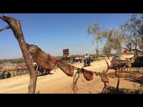 Sahara Marocain, Mauritanie, Senegal a moto