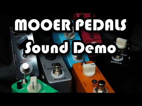 mooer pedals youtube. Black Bedroom Furniture Sets. Home Design Ideas
