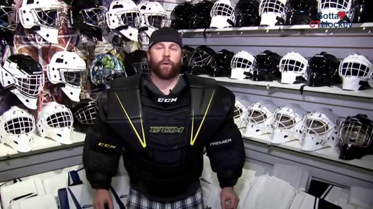 093e999d1e0 CCM Goalie Equipment Tip  Fitting Chest Protectors - YouTube