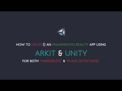 How to create an AR App using ARkit & Unity